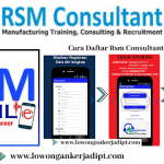 Lowongan RSM Consultant Jakarta